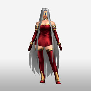 FrontierGen-Gorgon Armor 003 (Female) (Both) (Front) Render