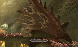MH4U-Pink Rathian Right Wing Break 002