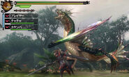MH3G-Green Plesioth Screenshot 01
