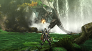 MHP3-Silver Rathalos Screenshot 012
