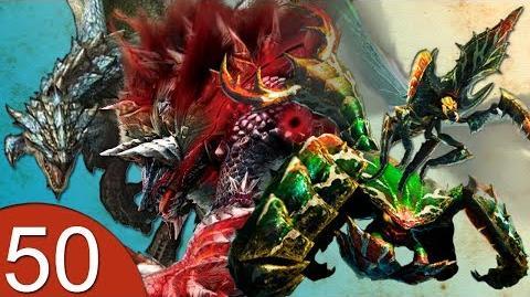 Monster Hunter 4 Nubcakes 50 - Stygian Zinogre, Azure Rathalos, Generu Serutasu & Aruserutasu
