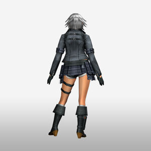 FrontierGen-Lady Armor 001 (Female) (Both) (Back) Render