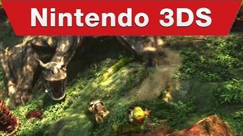 Nintendo 3DS - Monster Hunter 4 Ultimate E3 Trailer