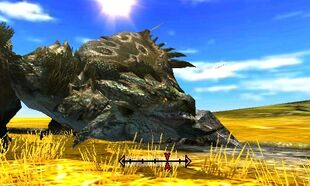 MH4U-Rathian Head Break 001