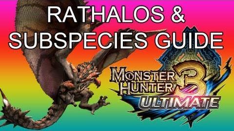 Monster Hunter 3 Ultimate - G2★ Rathalos & Azure guide リオレウス亜種-0