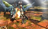 MH4U-Azure Rathalos Screenshot 001