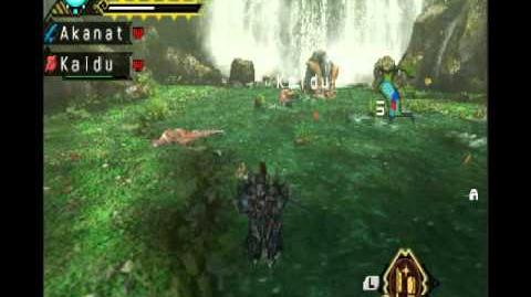 Monster Hunter Portable 3rd ep 29 Giant Aoashira