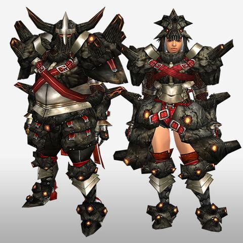 File:FrontierGen-Gurabide G Armor (Blademaster) (Front) Render.jpg