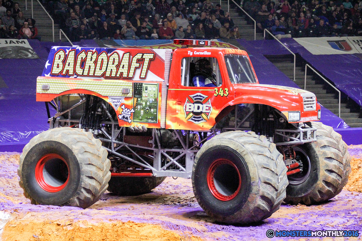 backdraft monster trucks wiki fandom powered by wikia. Black Bedroom Furniture Sets. Home Design Ideas