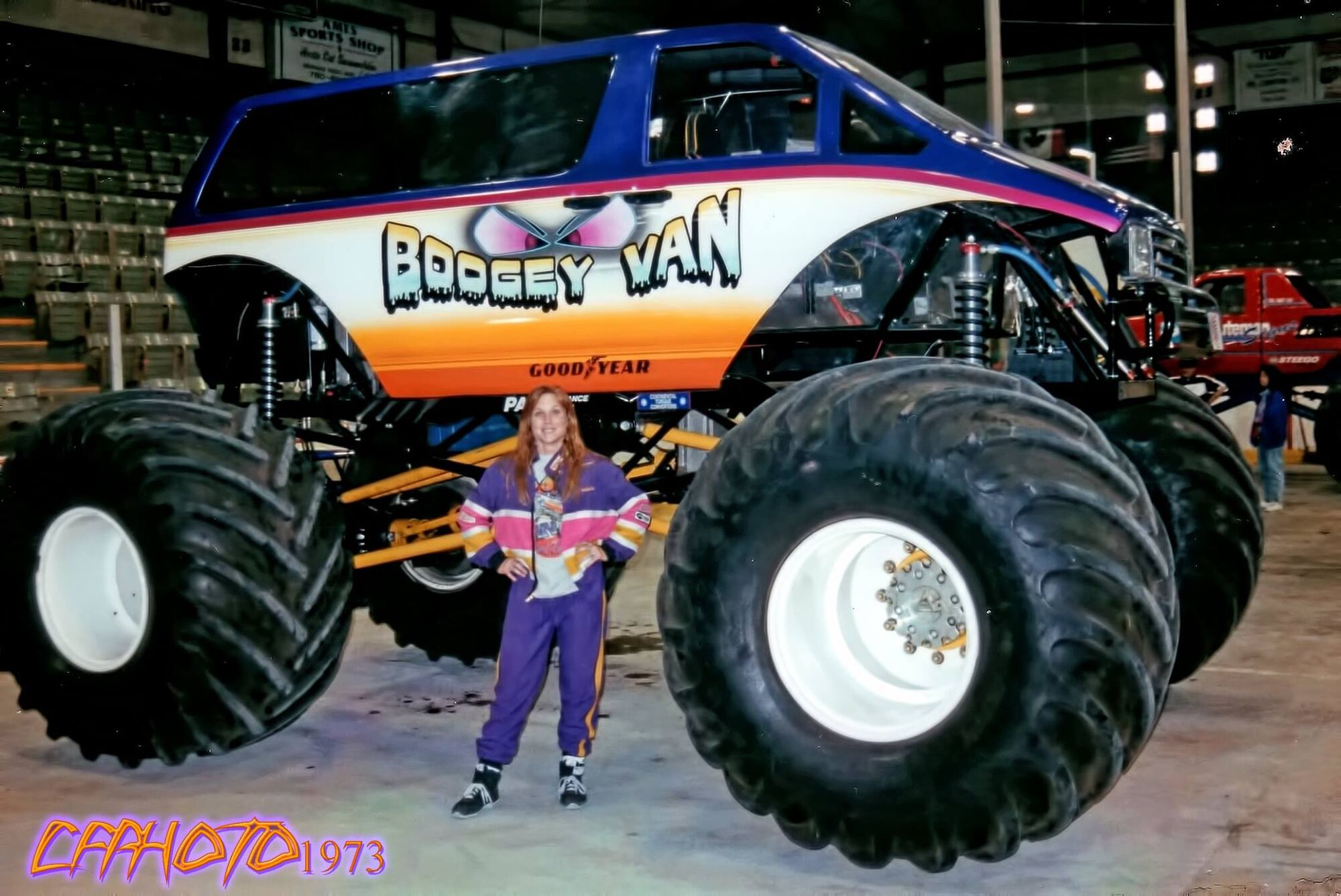 boogey van monster trucks wiki fandom powered by wikia. Black Bedroom Furniture Sets. Home Design Ideas