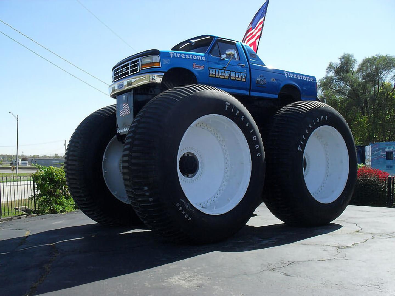 Bigfoot 5 Monster Trucks Wiki Fandom Powered By Wikia