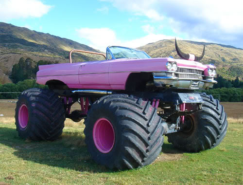 Pink Caddy | Monster Trucks Wiki | FANDOM powered by Wikia