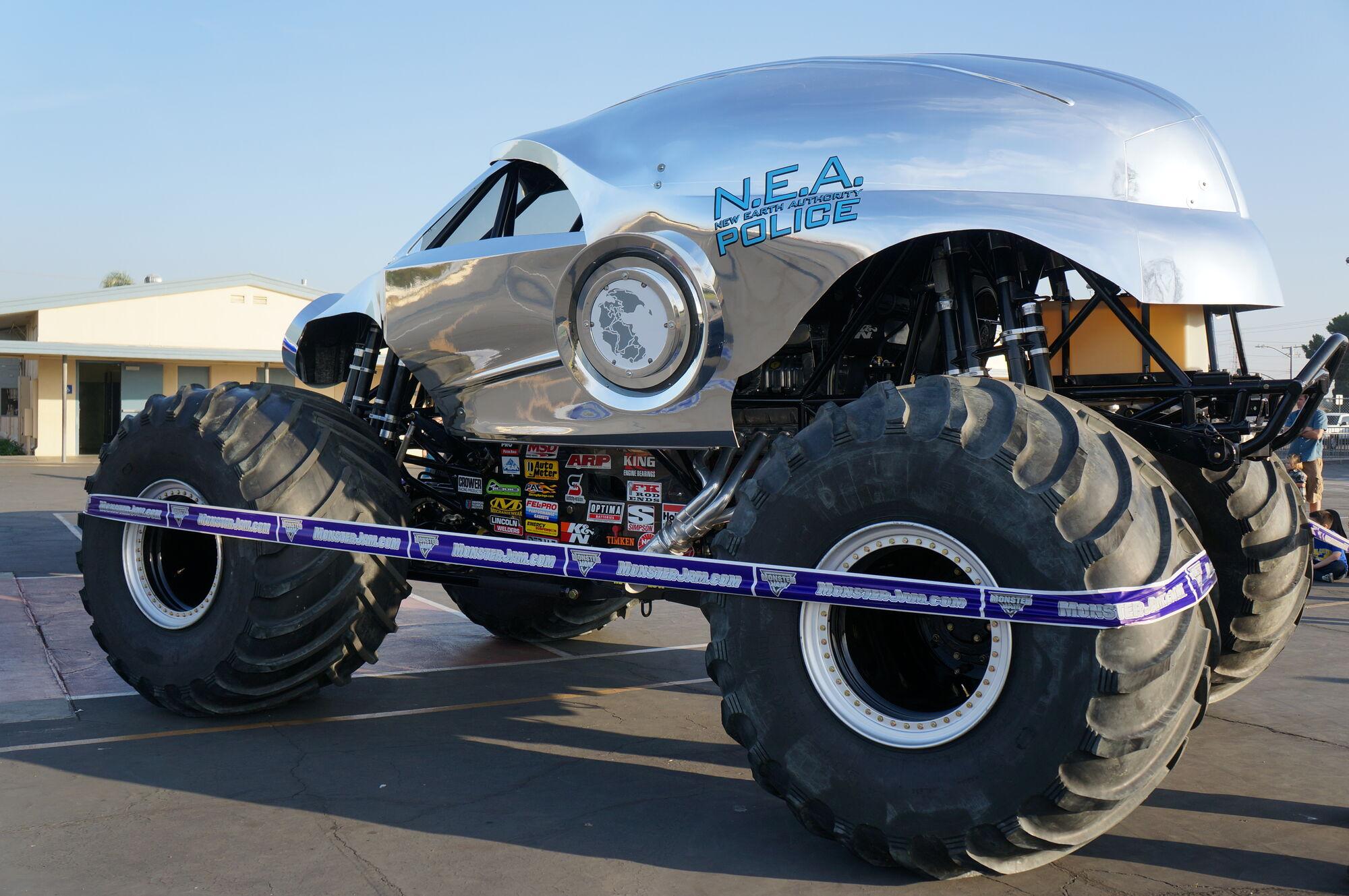 New Earth Authority N E A Police Monster Trucks Wiki Fandom