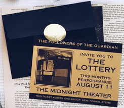 Lottery invitation, LM