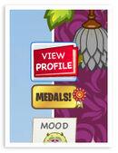 Medals Button