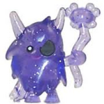 Big Bad Bill figure glitter purple