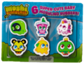 Issue 62 baby moshlings rubbers