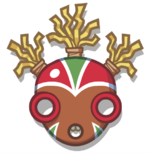 Tribal Mask Tres