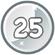 Level 25 icon