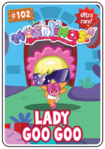 Collector card s2 lady goo goo