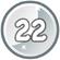 Level 22 icon