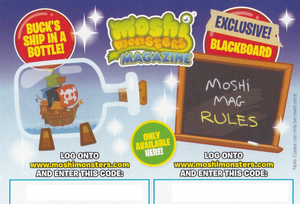 Issue 25 Code Card Back