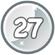 Level 27 icon