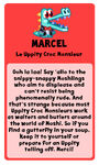 Marcel bio
