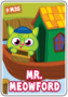 Collector card s7 mr. meowford