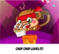 Moshi Cupcakes Chop Chop caught