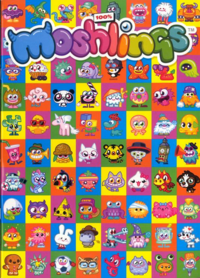 100% Moshlings issue 2 cover front