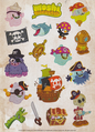 Issue 29 pirate stickers