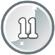 Level 11 icon