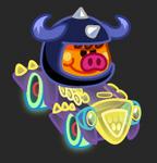 Moshi Karts moshlings neon Lummox