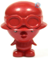 Peppy figure bauble red