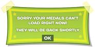 Medals message