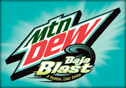Baja Blast Label Art 2011