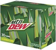 Mountain Dew 30 pack