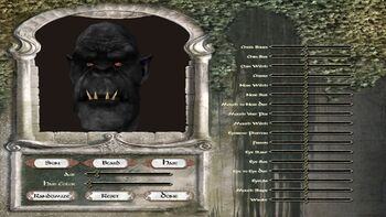 Orc Character Creation