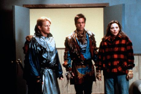 File:MST3k John Stockwell, Darrel Larson, Kim Cattrall in City Limits.jpg