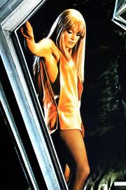 Danger Diabolik promo photo- Marisa Mell