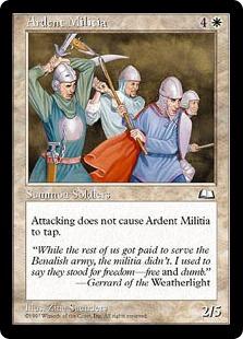 Ardent Militia WTH