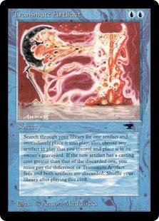 Transmute Artifact AQ
