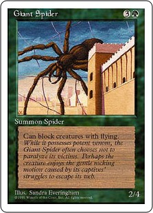Giant Spider 4ED