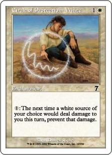 Circle of Protection White 7E