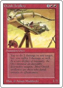 Orcish Artillery 2U