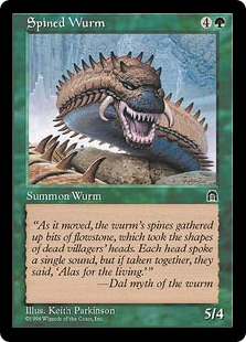 Spined wurm ST