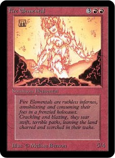 Fire Elemental 1E