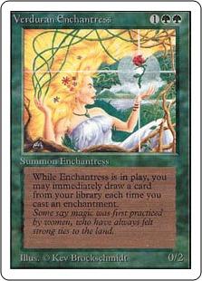 Verduran Enchantress 3E