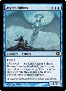 Argent Sphinx SOM